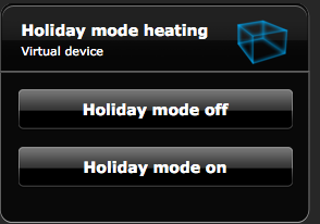 Holiday mode Fibaro